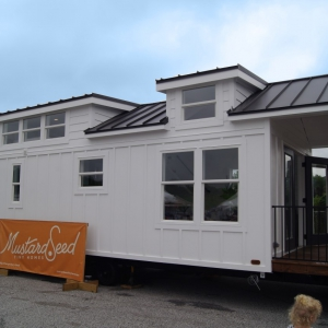 The Harvest - Modular or Park Model Tiny House - Mustard Seed Tiny Homes